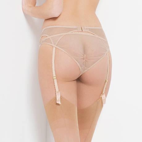 L'AGENT BY AGENT PROVOCATEUR Porte-jarretelles Angelica Nude