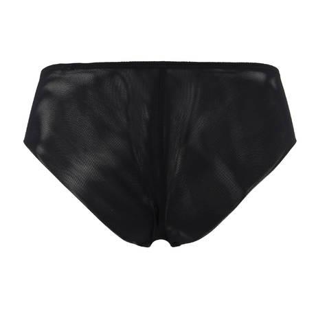 CHANTAL THOMASS Boxer Noeuds et Merveilles Noir Pois