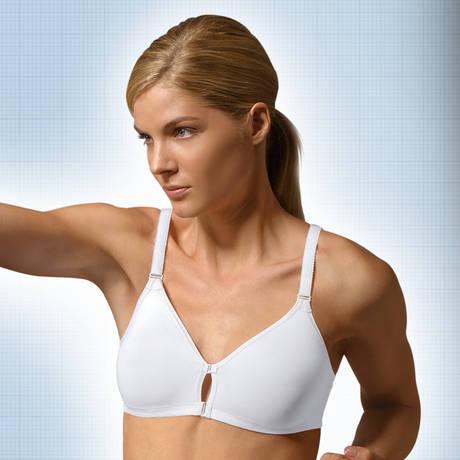 TRIUMPH Soutien-gorge sport sans armatures Fitness Triaction Blanc