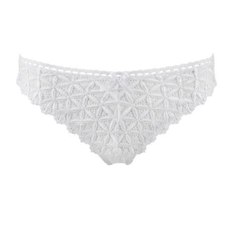 Slip brésilien Bahia Couture Blanc
