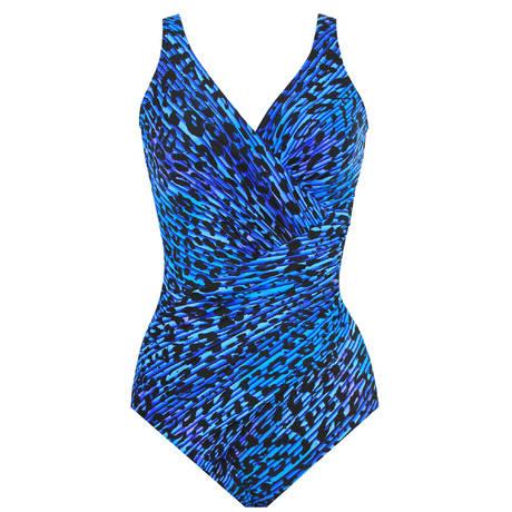 Maillot de bain 1 pièce Oceanus Purr-fection Bleu