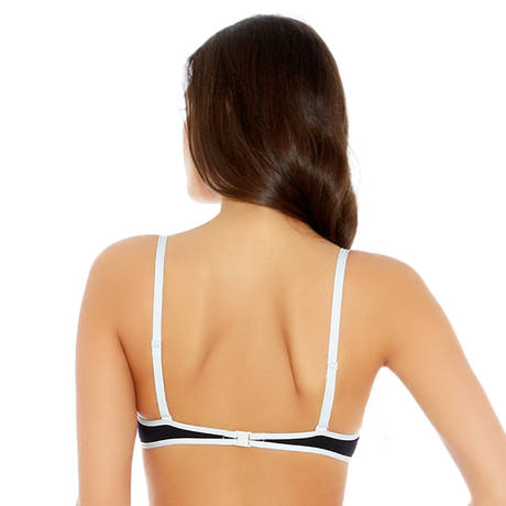 Maillot de bain push-up Coming Soon Noir/Blanc