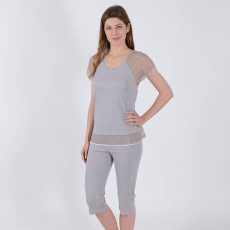 TECCIA Pyjama Delicate4 Chanvre