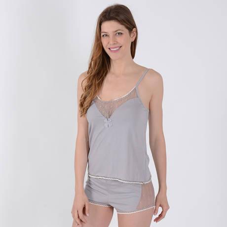 TECCIA Pyjama Delicate24 Chanvre