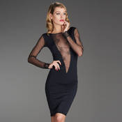 Robe manches longues Maison Close La Directrice