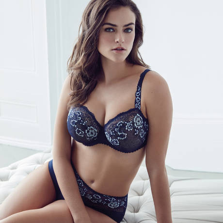 PRIMADONNA Culotte haute True Romance Bleu Saphir