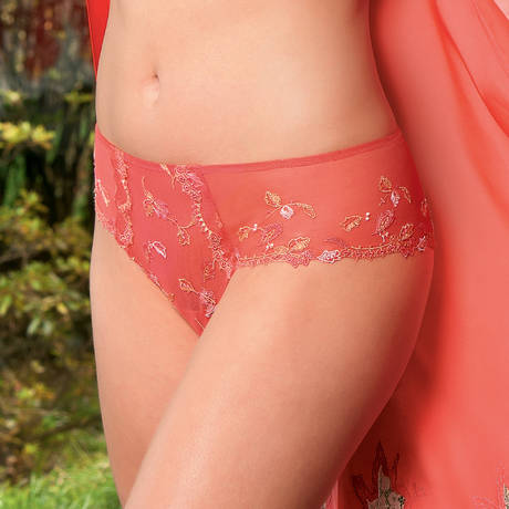 LISE CHARMEL Shorty Gravure Corail Email Corail