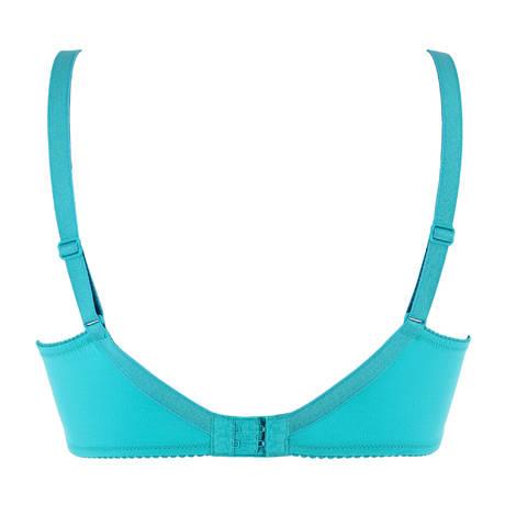 ANTINÉA Soutien-gorge armatures bien-être Courbes Persanes Bleu Turquoise