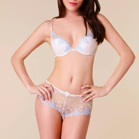 Soutien-gorge push-up White Nights Talc
