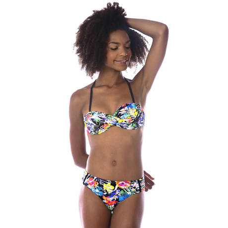 BANANA MOON Maillot de bain bandeau coques First Multicolore