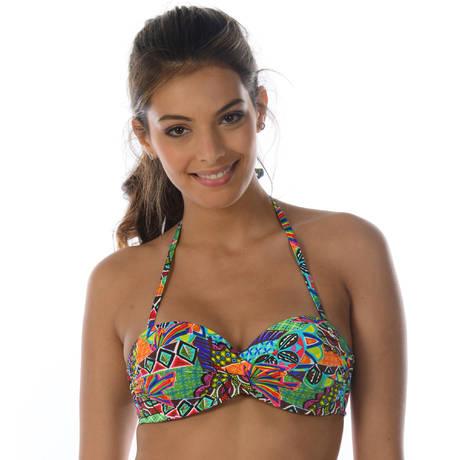 style de la mode de 2019 vente la plus chaude attrayant et durable Haut de maillot de bain bandeau coques BANANA MOON Habanera