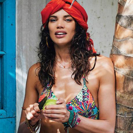 BANANA MOON Maillot de bain triangle coques Habanera Multicolore