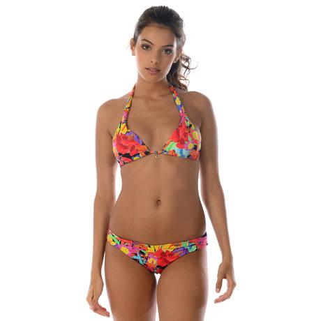 BANANA MOON Maillot de bain triangle coques Valisia Multicolore