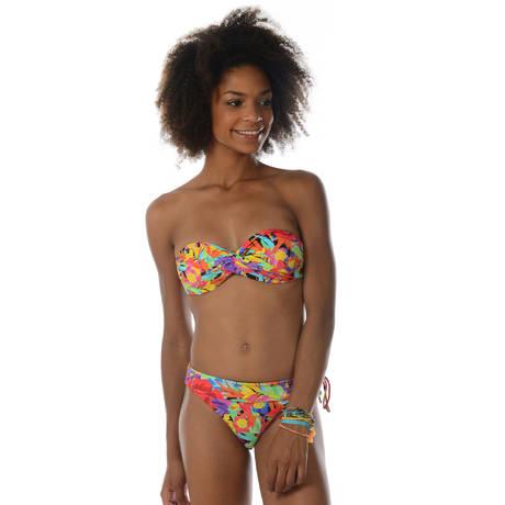 BANANA MOON Maillot de bain bandeau coques Valisia Multicolore