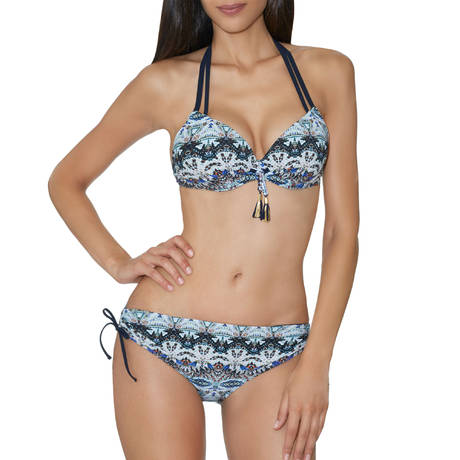 AUBADE Maillot de bain push-up coques Exotic Waves Acapulco