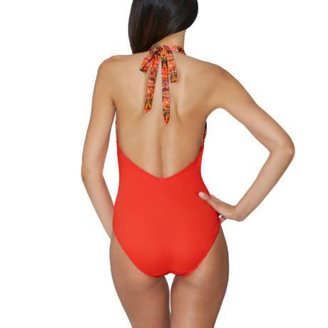 AUBADE Maillot de bain 1 pièce nageur souple Exotic Waves Cuzco