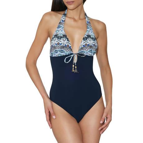 Maillot de bain 1 pièce nageur souple Exotic Waves Acapulco