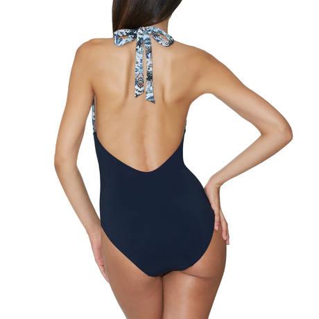 AUBADE Maillot de bain 1 pièce nageur souple Exotic Waves Acapulco