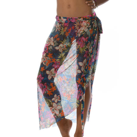 BANANA MOON Robe jupe Kaanapali Multicolore