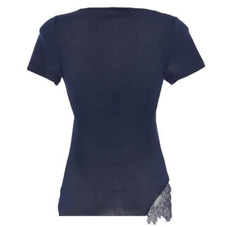 OSCALITO Top en coton fil d'écosse Confident Bleu Marine