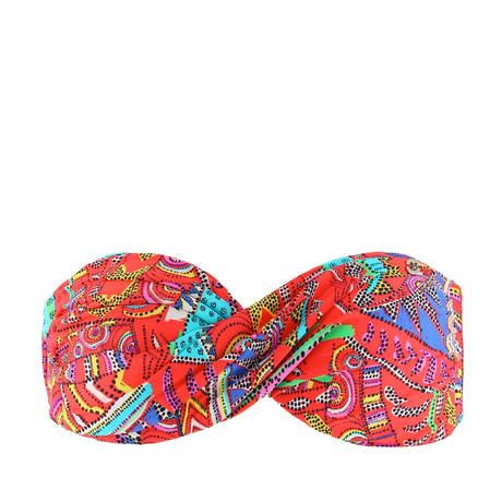 Maillot de bain bandeau coques Kanahela Multicolore