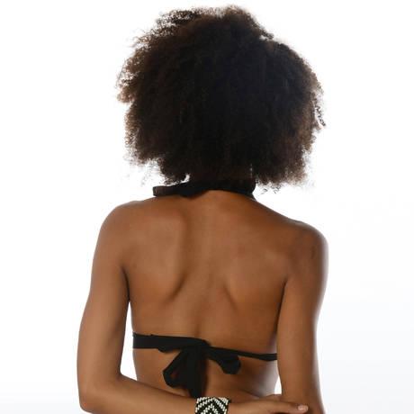 Maillot de bain triangle coques Black Noir