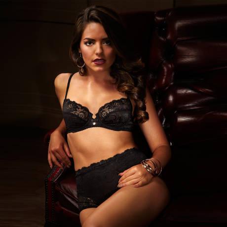 Culotte haute Gypsy Noir