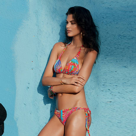 BANANA MOON Maillot de bain push-up Kanahela Multicolore