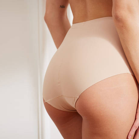BARBARA Culotte galbante Azur Nude