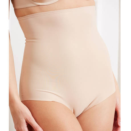 Culotte haute galbante Azur Nude