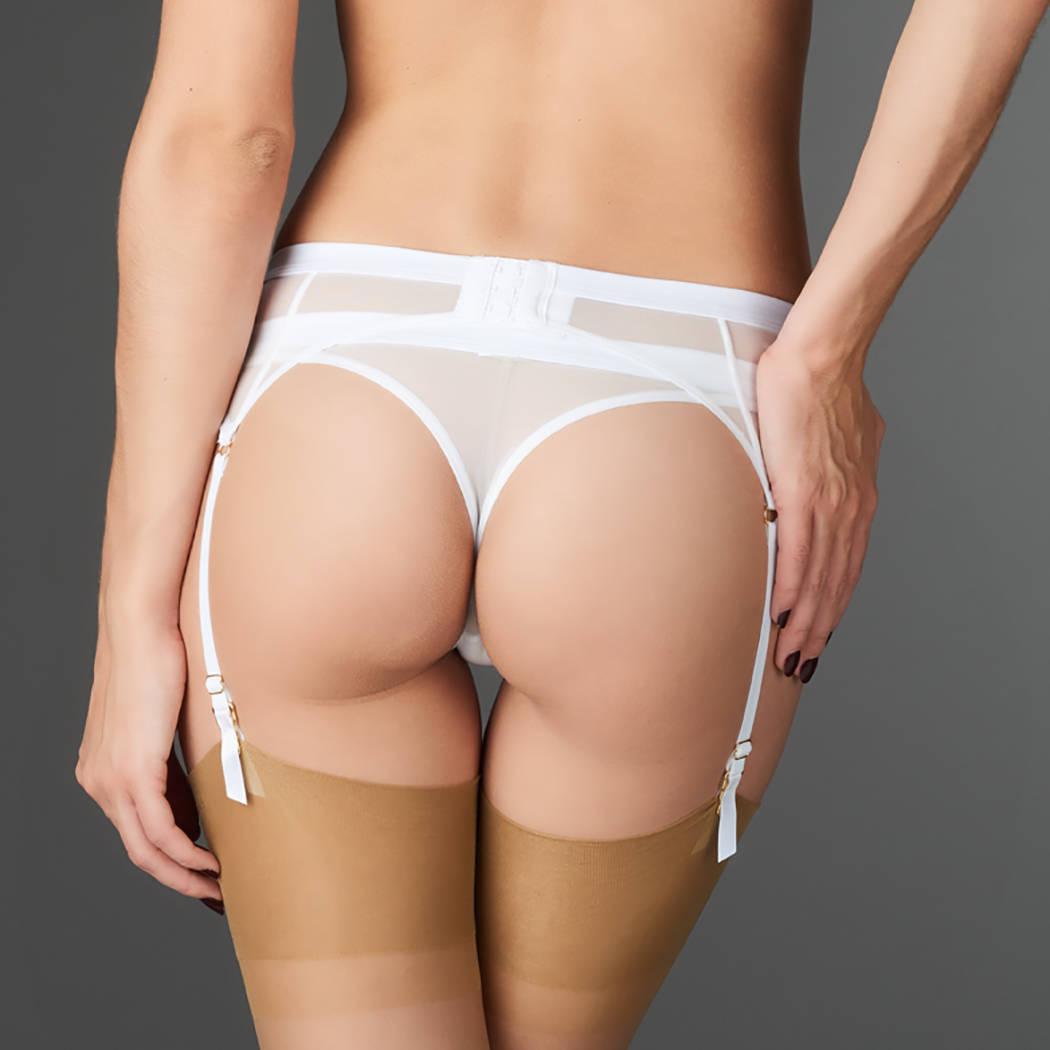 MAISON CLOSE Porte-jarretelles Pure Tentation Blanc