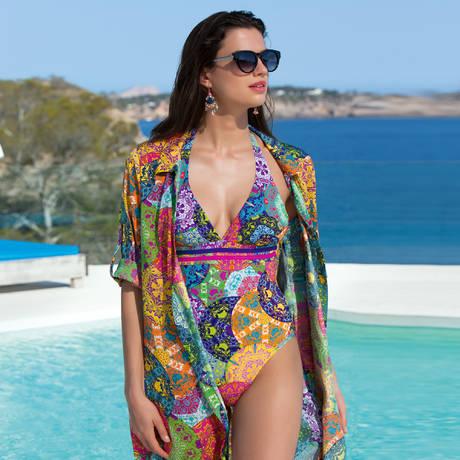 LISE CHARMEL Maillot de bain 1 pièce nageur Venezia Artiste Venezia Multicolore