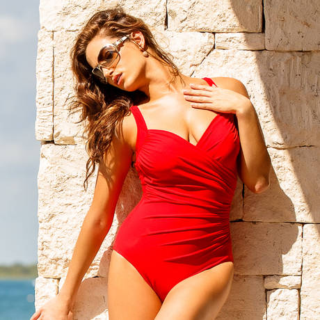 Maillot de bain 1 pièce Sanibel Must Haves Rouge