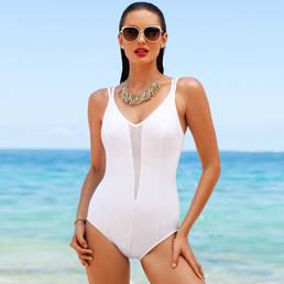 Maillot de bain 1 pièce Mesh Plunge gainant Miraclesuit Fashion Effects