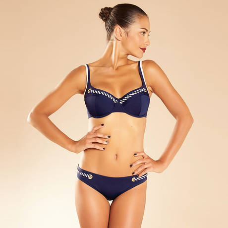CHANTELLE Maillot de bain slip Atlantique Navy Blue