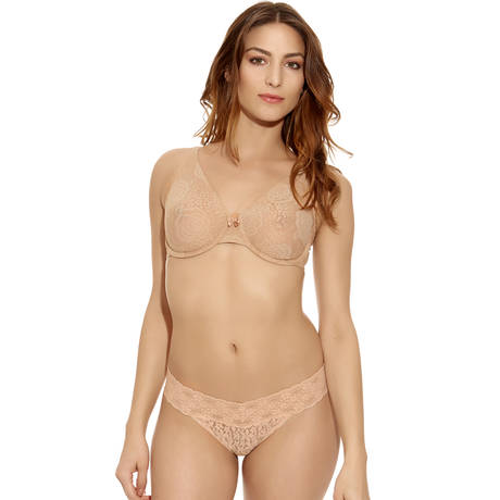 String Halo Lace Naturally Nude
