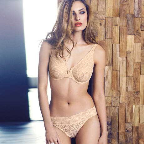 Soutien-gorge moulé Halo Lace Naturally Nude
