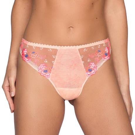 String Madam Butterfly Glossy Pink