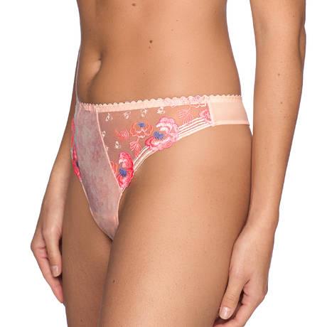 PRIMADONNA String Madam Butterfly Glossy Pink