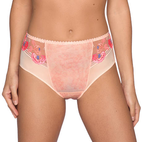 Culotte haute Madam Butterfly Glossy Pink