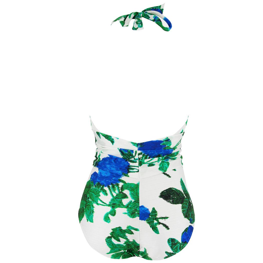 MARYAN MEHLHORN Maillot de bain 1 pièce Oasis Blue Rose