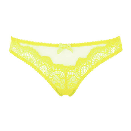 L'AGENT BY AGENT PROVOCATEUR Slip Vanesa Lemon