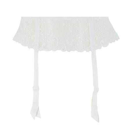Porte-jarretelles Délice Blanc