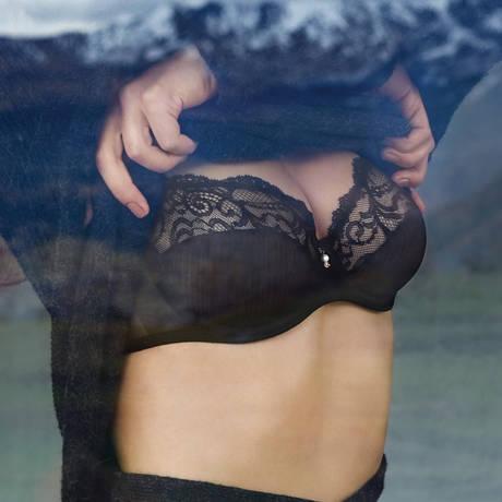 Soutien-gorge armatures emboîtant Sofia Noir