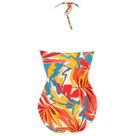 Maillot de bain 1 pièce bandeau Lost in Paradise Multicolore