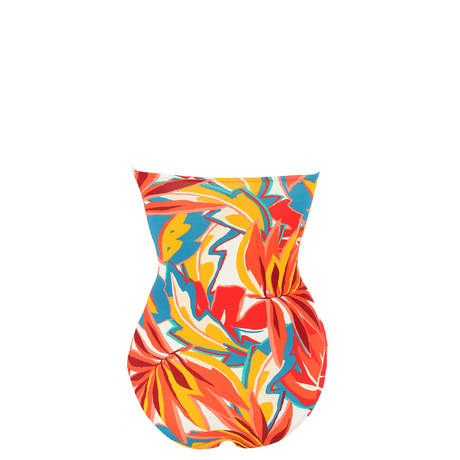 HUIT Maillot de bain 1 pièce bandeau Lost in Paradise Multicolore