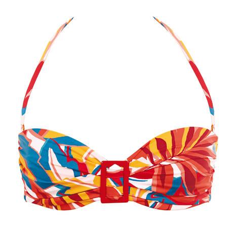 HUIT Maillot de bain bandeau Lost in Paradise Multicolore