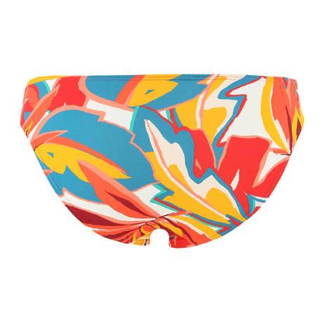 HUIT Maillot de bain slip taille basse Lost in Paradise Multicolore