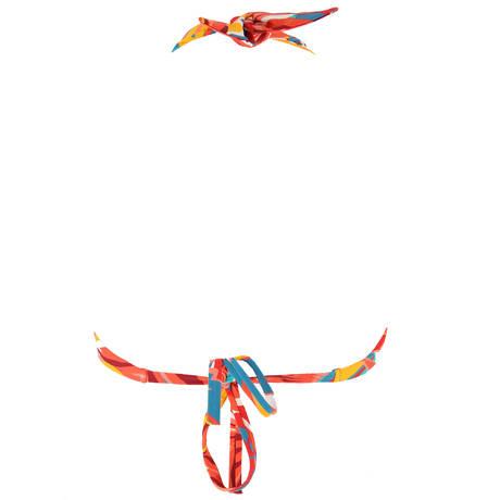 HUIT Maillot de bain triangle Lost in Paradise Multicolore