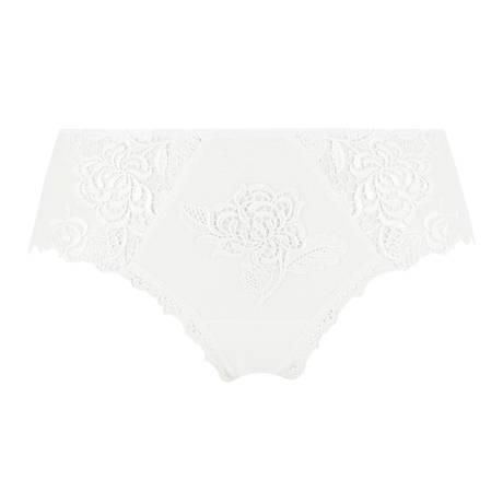 LISE CHARMEL Shorty Ajourage Pétales Blanc